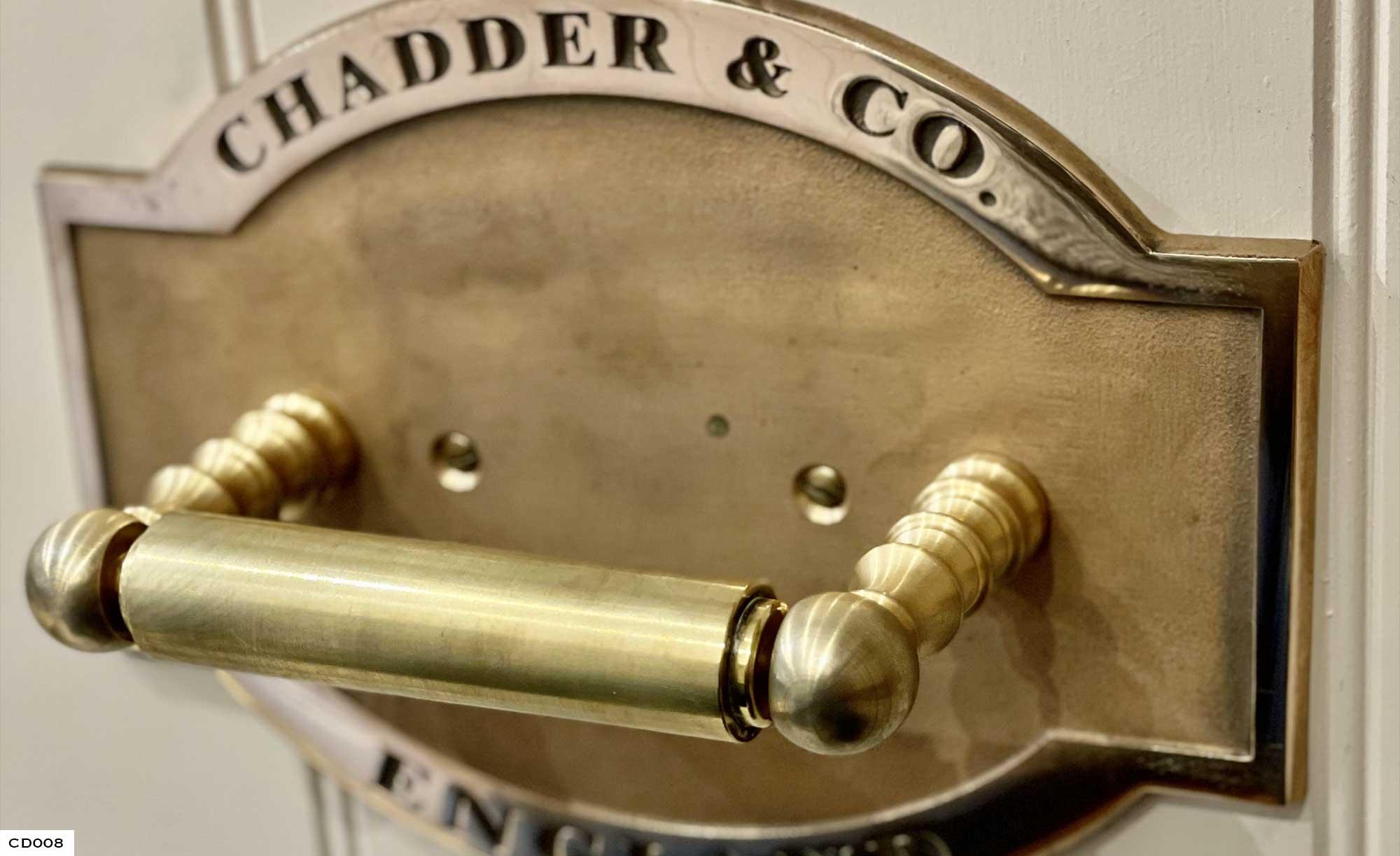 Vintage Toilet Roll Holder, Copper Toilet Roll Holder, Chadder Design, Bespoke Toilet Cisterns