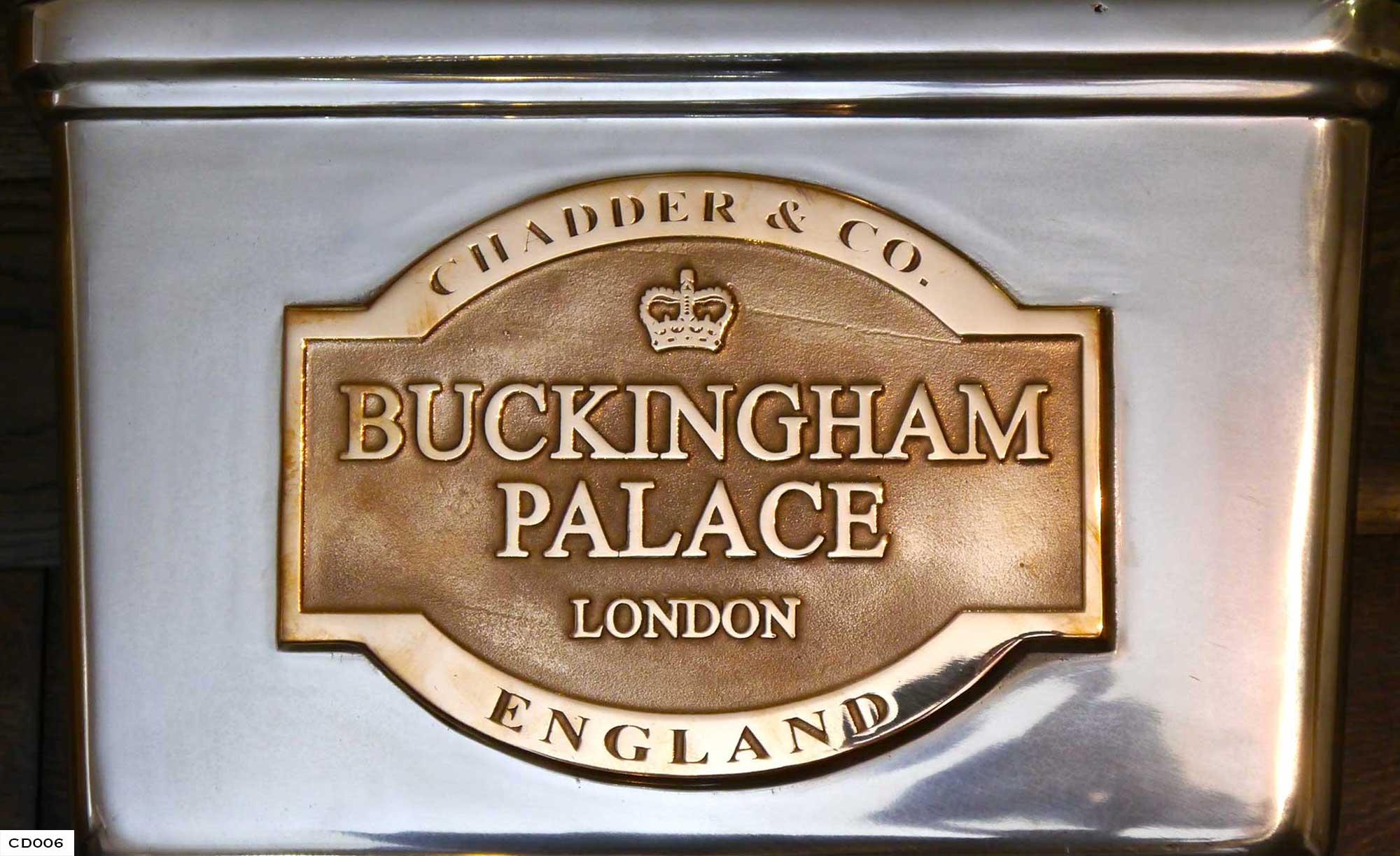 Buckingham Palace Toilet, Bespoke Cisterns, Chadder Design, Bespoke Toilet Cisterns